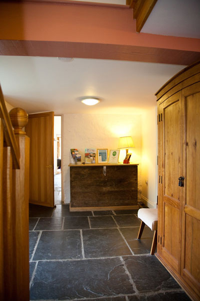 Accessible hallway in guest house - wheelchair friendly