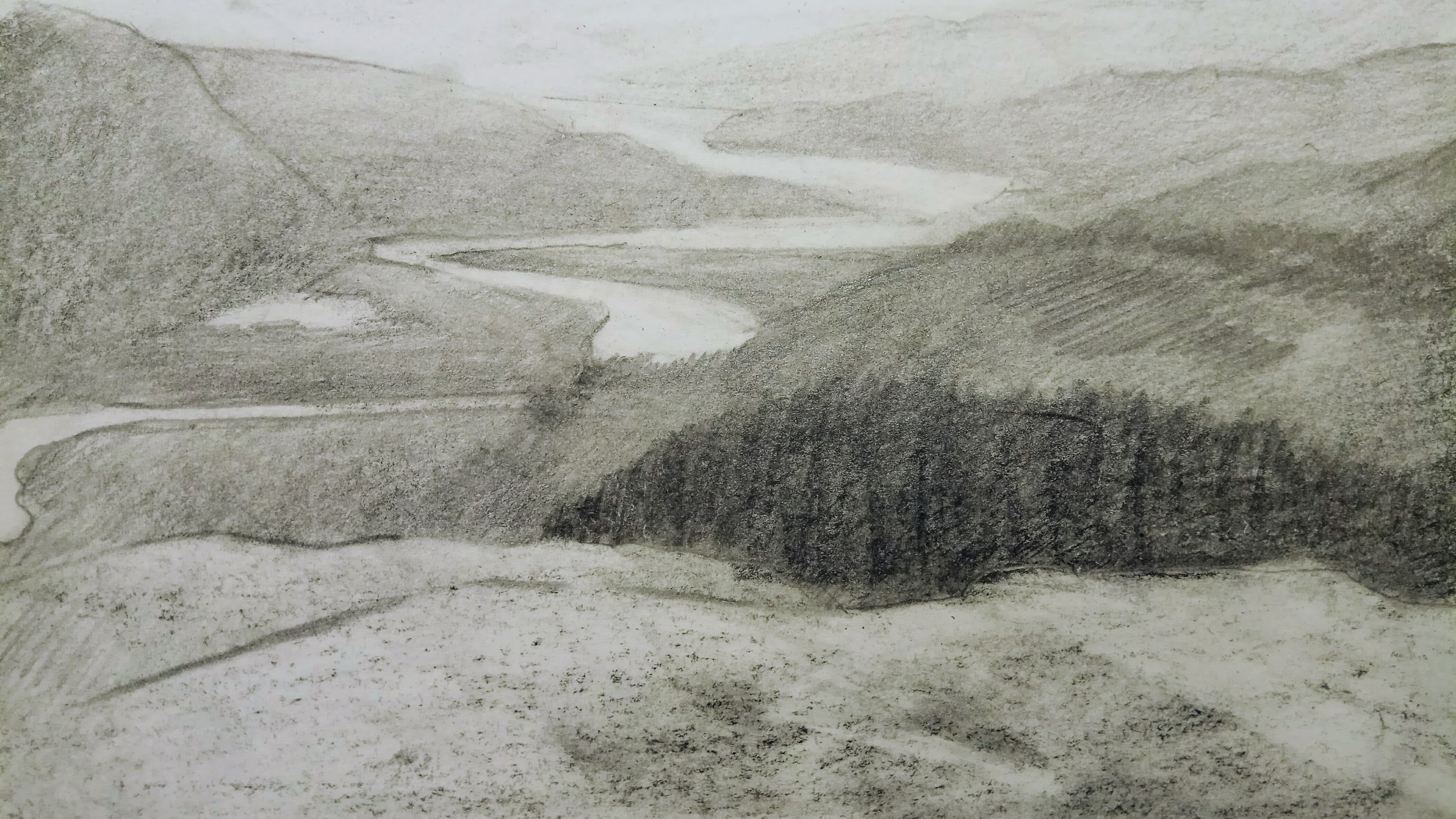 River Dyfi near Yr Hen Stablau